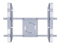 Multibrackets M Public Display Stand Single Screen Mount - Monteringskomponent (bildskärmsmontering) för LCD- /plasmapanel - stål - silver 7350022736986