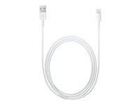 Apple - Lightning-kabel - Lightning (hane) till USB (hane) - 2 m - för Apple iPad/iPhone/iPod (Lightning) MD819ZM/A