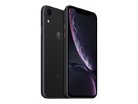"Apple iPhone Xr - Smartphone - dual-SIM - 4G LTE Advanced - 128 GB - GSM - 6.1"" - 1792 x 828 pixlar (326 ppi) - Liquid Retina HD display - 12 MP (7 MP främre kamera) - svart MRY92QN/A"