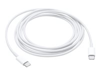 Apple USB-C Charge Cable - USB-kabel - USB-C (hane) till USB-C (hane) - 2 m - för 10.9-inch iPad Air; 11-inch iPad Pro; iMac Pro; MacBook Air with Retina display MLL82ZM/A